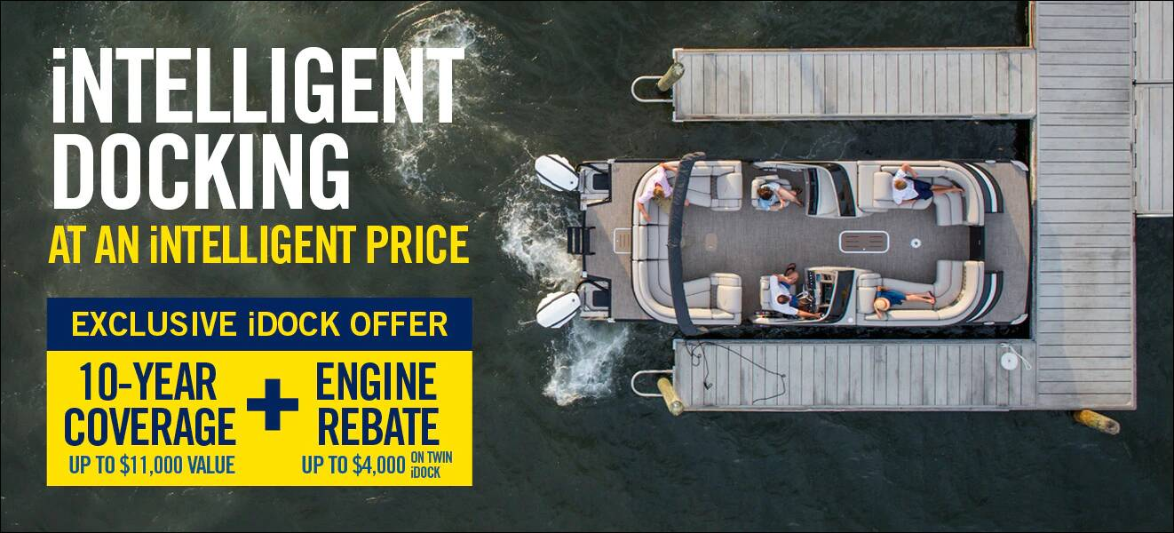 Evinrude Spring into Savings iDock Offer - Expires June 30, 2019