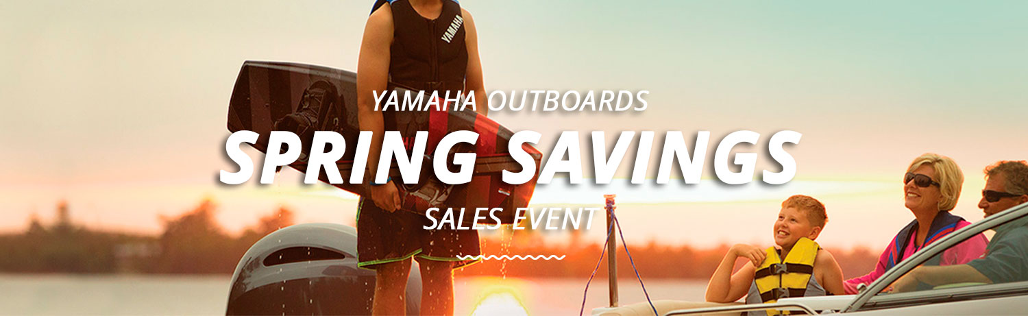 Yamaha Promotions Spring Savings Sales Event